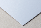 Recycled matte paper stock
